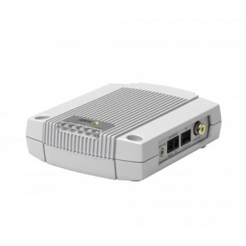Decodor Video Axis P7701 0319-002 Standard de compresie H.264, MPEG-4, Motion JPEG Conectori: RCA/DVI, RJ-45 10BASE-T/100BASE-TX PoE 0319-002