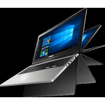 "Laptop Asus Transformer Book Flip TP300UA-C4024T Convertible Intel Core i7 Skylake 6500U up to 3.1GHz 4GB DDR3L HDD 1TB Intel HD Graphics 520 13.3"" Full HD Touch Windows 10 Home"