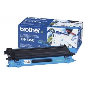 Cartus Toner Brother TN135C Cyan 4000 pagini for DCP-9040CN, DCP-9042CDN, DCP-9045CDN, HL-4040CN, HL-4050CDN, HL-4070CDW, MFC-9440CN, MFC-9450CDN, MFC-9840CDW