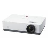 Proiector SONY VPL-EW345, 3LCD, WXGA 1280x 800, 4200 lumeni, 3700:1, lampa 4000 ore, D-Sub, HDMI, S-video, RJ45, USB type A/B, RS-232C, boxa 1x 16W, greutate 4.1 kg, telecomanda, culoare alba