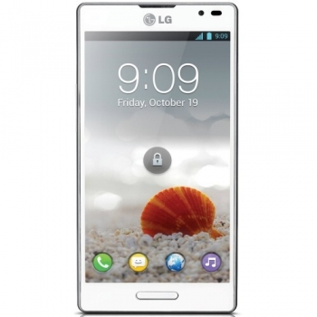 Telefon Mobil LG Optimus L9 P760 White Cortex A9 Dual Core 1.0GHz 4GB 3G Gorilla Glass 2 LG Android v4.0.4 P760