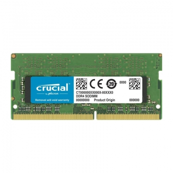 Memorie laptop Crucial 4GB, DDR4, 2666MHz, CL19, 1.2v