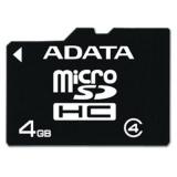 Card Memorie microSDHC ADATA 4GB Clasa 4 AUSDH4GCL4-R