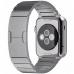 Smartwatch Apple Watch 38 mm carcasa din otel inoxidabil si curea metalica argintie