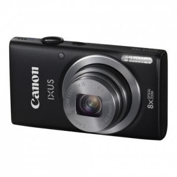 Camera Foto Digitala Canon IXUS 135 HS Black 16 MP Zoom optic 8x OIS WiFi Black AJ8233B001AA