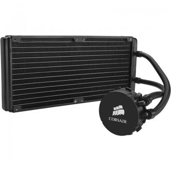 Sistem de racire CPU cu lichid Corsair Hydro H110 socket Intel&AMD Radiator 140 x 312 x 29 mm Ventilatoare 2x 140 mm CW-9060014-WW