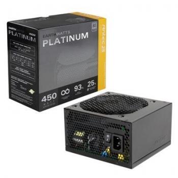 Sursa Antec EarthWatts 450W Platinum 4x Molex 5x SATA 2x PCI-E PFC Activ OCP, OVP, UVP, SCP, OPP, SIP, NLO, BOP 80+ Platinum EA-450 PLATINUM