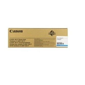 Unitate Cilindru Canon C-EXV16/17 Cyan 60000 Pagini for CLC 4040, CLC 5151, IR C4080, IR C4580, IR C5185 CF0257B002AA