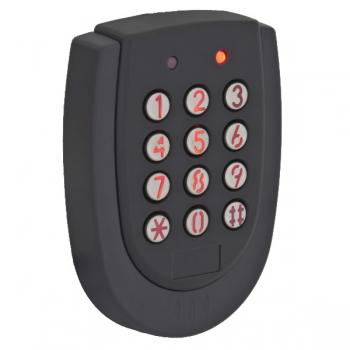 Controler cu cititor de proximitate incorporat si cu tastatura YK-520L pentru exterior.Cu releu separat.Cartele 125KHz (EM4100 sau compatibil),Capacitate 1000 de cartele + 8 coduri de 4 cifre,Distanta de citire 10 cm