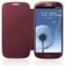 Husa Samsung EFC-1G6FRECSTD pentru i9300 Galaxy S III Red