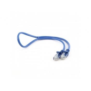 Patch cord UTP Gembird cat. 5E 1m albastru PP12-1M/B
