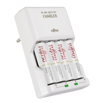 Fujitsu Ni-MH + R6/AA 1900 mAh battery charger FCT343-CEFX-CL