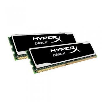 Memorie RAM Kingston HyperX BLACK KIT 2x8GB DDR3 1600 MHz CL10 KHX16C10B1BK2/16X