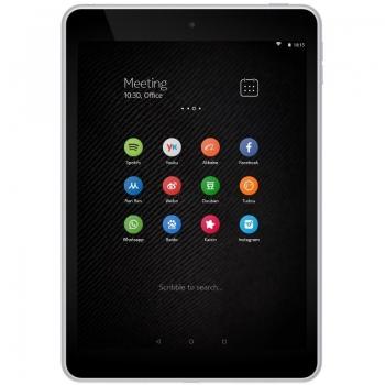 "Tableta Nokia N1 Intel Atom Quad Core Z3580 up to 2.33GHz IPS 7.9"" 2048x1536 2GB RAM memorie interna 32GB Android 5.0 Silver QM_111152"