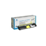 Cartus Toner Konica Minolta A00W131 Yellow 1500 pagini for Minolta Magicolor 2400W, 2430DL, 2450, 2450D, 2450DX, 2480MF, 2490MF