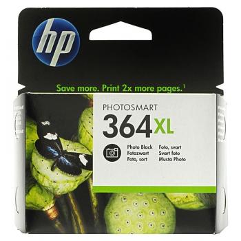 Cartus Cerneala HP Nr. 364XL Photo Black Vivera Ink 290 Pagini for PhotoSmart C5380, HP PhotoSmart C6380, HP PhotoSmart D5460, HP PhotoSmart Pro B8550 CB322EE