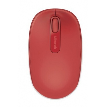 Mouse Wireless Microsoft Mobile 1850 Optic 3 butoane 1000dpi USB Rosu U7Z-00033