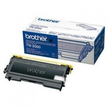Cartus Toner Brother TN-2000 Black 2500 Pagini for DCP-7010, DCP-7010L, FAX-2920, HL-2030, HL-2040, HL-2070N, MFC-7420, MFC-7820