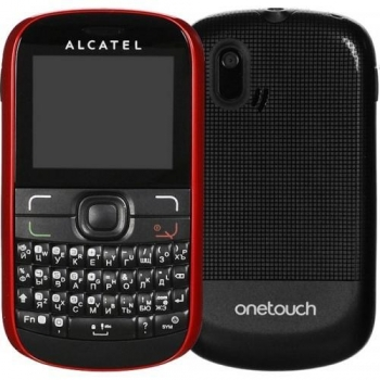Telefon Mobil Alcatel One Touch 385D Cherry Red Dual SIM tastatura qwerty ALC385DRED