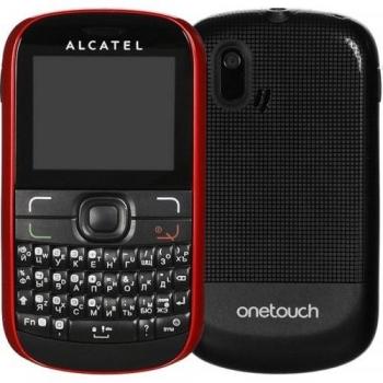 Telefon Mobil Alcatel One Touch 385D Cherry Red Dual SIM tastatura qwerty ALC385DRED