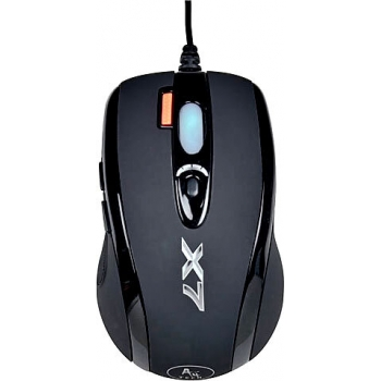 Mouse A4Tech XL-750MK Mini Optic 6 Butoane 3600dpi USB Black