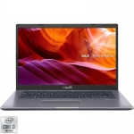 Laptop ASUS 14'' X409FA-BV611, HD, Procesor Intel® Core™ i3-10110U (4M Cache, up to 4.10 GHz), 8GB DDR4, 256GB SSD, GMA UHD, No OS, Star Grey