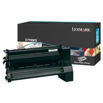 Cartus Toner Lexmark C7702KS Black 6000 pagini for C770N, C772N, X772N