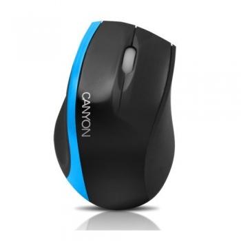 Mouse Canyon CNR-MSO01 Optic 3 Butoane 800 DPI USB 2.0 Black/Blue CNR-MSO01BL