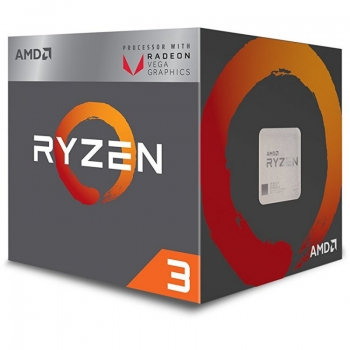 Procesor AMD Ryzen 3 2200G Quad Core 3.5Ghz Cache 6MB Socket AM4 Socket AM4 Wraith Stealth cooler YD2200C5FBBOX