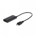 Adaptor microUSB la HDMI T/M, HDTV, 5-pin MHL A-MHL-002