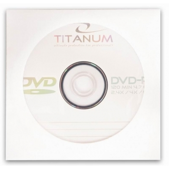 DVD-R TITANUM [ envelope 1 | 4.7GB | 8x ] 1074 - 5905784763132