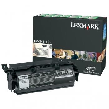 Cartus Toner Lexmark T650H11E Black High Yield Return Program 25000 pagini for T650, T652, T654