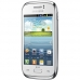 Telefon Mobil Samsung Galaxy Young S6312 Duos White Dual SIM Cortex A5 1Ghz memorie interna 4GB Camera Foto 3MPx Android 4.1 SAMS6312WHT