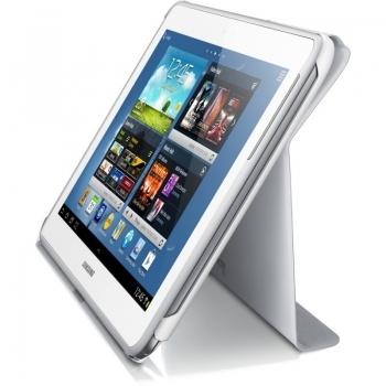 """Husa tableta Samsung pentru N8000 Galaxy Note 10.1"""" White EFC-1G2NWECSTD"""