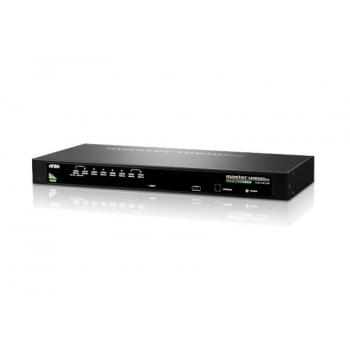 Switch KVM Aten CS1308 8 porturi PS/2 USB W/230V ADP CS1308-AT-G