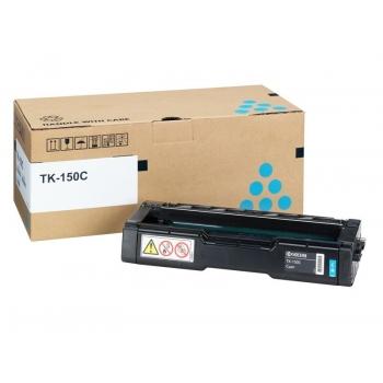 Cartus Toner Kyocera TK-150C Cyan 6000 Pagini for Kyocera Mita FS-C1020 MFP