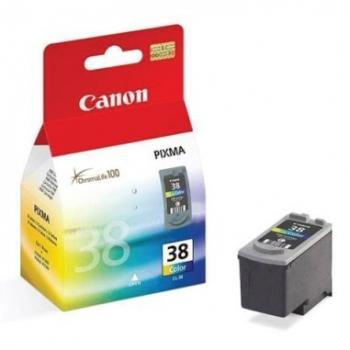 Cartus Cerneala Canon CL-38 Color 205 Pagini for Pixma IP1800, IP1900, IP2500, IP2600, MP190, MP210, MP220, MP140, MX300, MX310 BS2146B001AA
