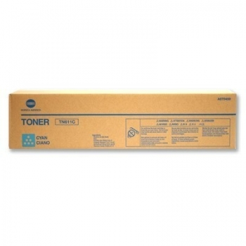 Cartus Toner Konica Minolta TN-611C Cyan 27000 pagini for Minolta Bizhub C451, C550, C650