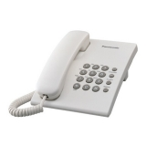Telefon analogic Panasonic KX-TS500FXW alb