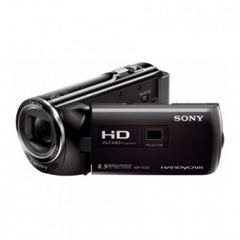 Camera Video Sony HDR-PJ220 Zoom optic 27x Zoom digital 320x Full HD proiector incorporat Black HDRPJ220EB.CEN