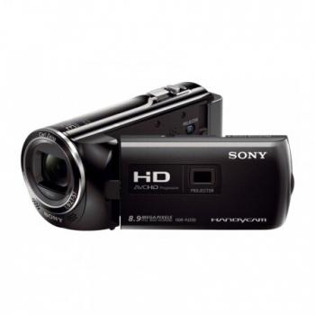 Camera Video Sony HDR-PJ220 Zoom optic 27x Zoom digital 320x Full HD proiector incorporat Black HDRPJ220EB.CEN
