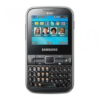 Telefon Mobil Samsung Chat C3222 Black Dual SIM SAMC3222BLK