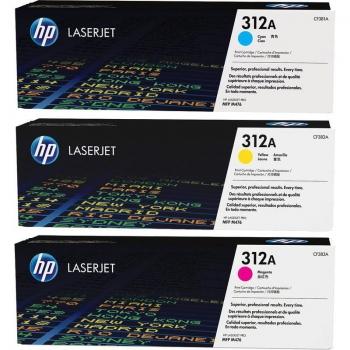 """Toner Original pentru HP CF440AM Color Tri-Pack 312A, compatibil M476, 3x2700pag """"CF440AM"""""""