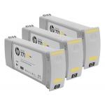 Pachet Cartus Cerneala HP Nr. 771 Yellow 3 Bucati 775-ml for Designjet Z6200 42', Designjet Z6200 60' CR253A