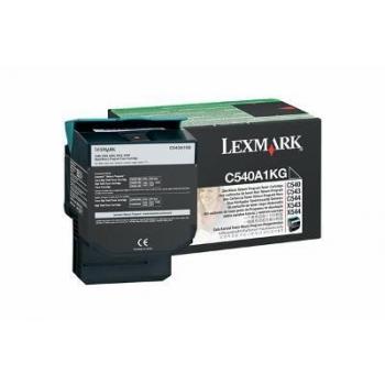 Cartus Toner Lexmark C540A1KG Black Return Program 1000 pagini for C540, C543, X543, C544, X544