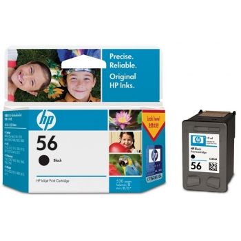 Cartus Cerneala HP Nr. 56 Black 19 ml for DeskJet 450 C6656AE