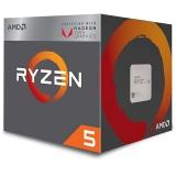 Procesor AMD Ryzen 5 2400G Quad Core 3.6GHz 20MB Socket AM4 BOX Video Radeon Vega 11 YD2400C5FBBOX
