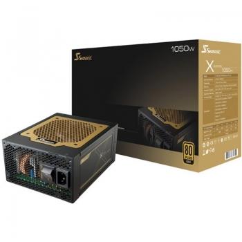 Sursa Modulara Sea Sonic X-1050 1050W 6x PCI-E 11x SATA 8x Molex 2x Floppy PFC Activ OPP, OVP, UVP, OCP, OTP, SCP Certificare 80+ Gold SS-1050XM