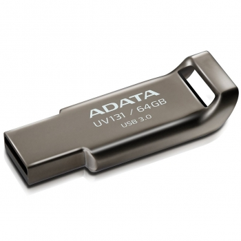 Memorie USB ADATA DashDrive Value UV131 64GB USB 3.0 Grey AUV131-64G-RGY