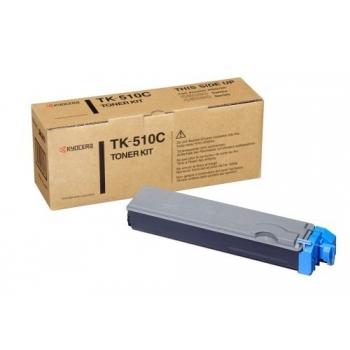 Cartus Toner Kyocera TK-510C Cyan 8000 Pagini for FS-C5020N, FS-C5025, FS-C5030N